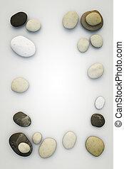 pierres, cadre
