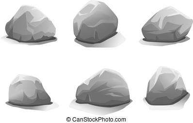 pierres, ensemble
