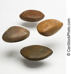 pierres, flotter