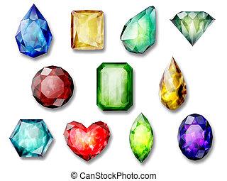 pierres, gemme