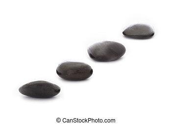 pierres, marcher