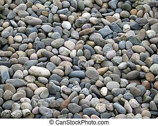 pierres, poli