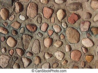 pierreux, mur