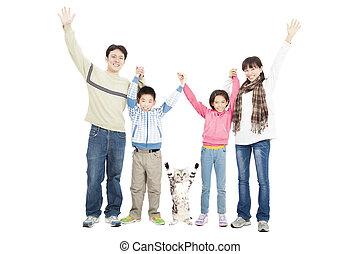 pieszczoch, rodzina, szczęśliwy