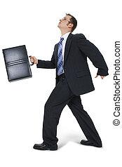 pieszy briefcase, handlowiec