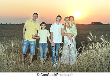 pieszy, rodzina