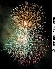 pietà, fireworks, barcellona, 2014, giorno, celebrare