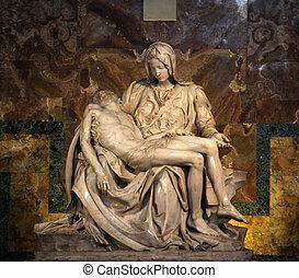 Piet - The Piet? (1498-1499) by Michangelo Buonarroti,...