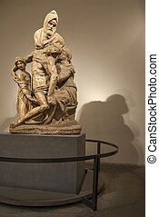Pieta - Sculpture by Michelangelo