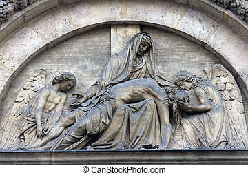 Pieta, St. Elizabeth of Hungary church, Paris
