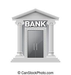 pietra costruzione, banca