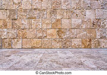 pietra, fondo, o, fondale, textured