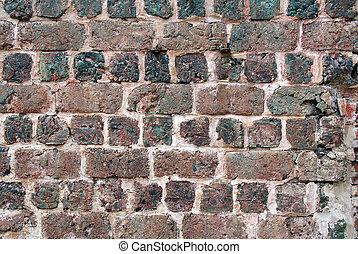 pietra, fondo, parete, scoria