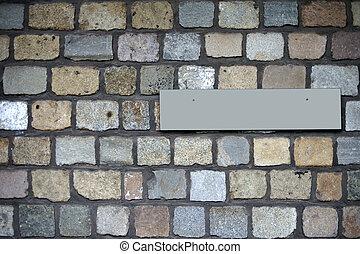 pietra, granito, parete