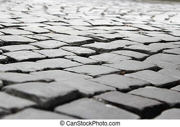 pietra grigia, marciapiede