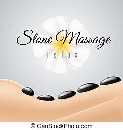 pietra, massaggio