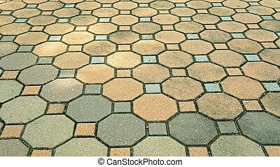 pietra, mattone, strada, fondo