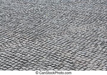 pietra, nero, pavimento