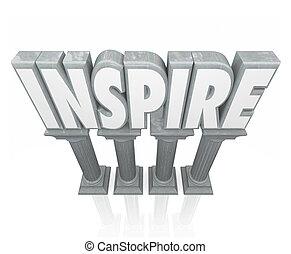 pietra, parola, ispirare, successo, motivatio, incoraggiare,...