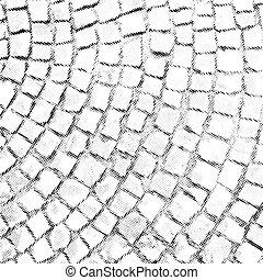 pietra, ricoprire, modello, struttura, halftone, vettore, pavimentazione
