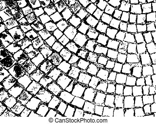 pietra, ricoprire, modello, struttura, vettore, pavimentazione