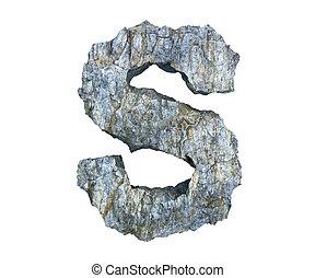 pietra, s, lettera