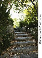pietra, steps.