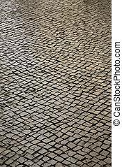 pietra, strada.