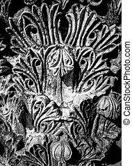 pietra taglia, da, antichità