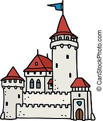 pietra, vecchio, castello