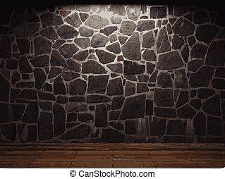 pietra, vettore, fondo