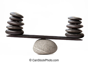 pietre, equilibratura