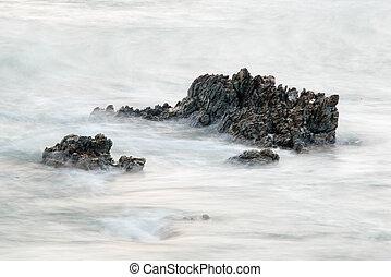 pietre, oceano