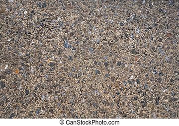 pietre, parete, vecchio, fondo, cemento