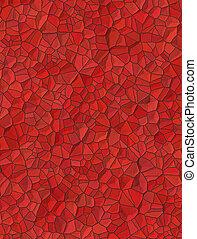pietre, poco, fondo, struttura, rosso