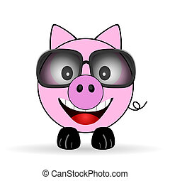 pig cartoon illustration