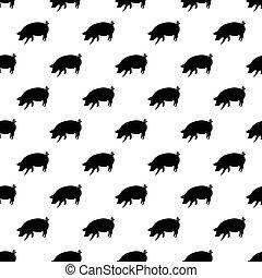Pig pattern seamless