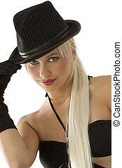 pige, hat