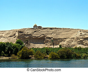 Pigeon house, Nile river, Egypt - Pigeon house by the Nile...
