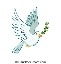 pigeon peace symbol