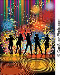 piger, dansende