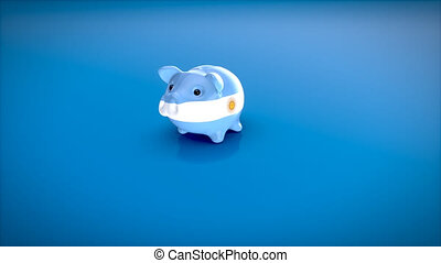Piggy bank - 3D Animation