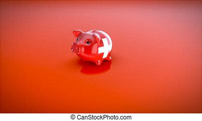 Piggy bank - 3D Animation