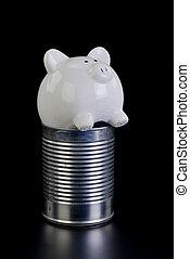 Piggy Bank Hard Times.
