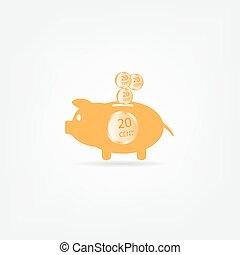 Piggy bank icpn