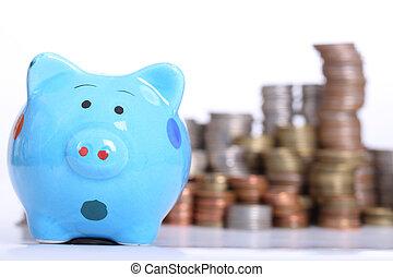 Piggy bank officer