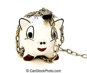 piggy chained