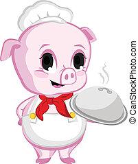 Piggy Chef - a Pig Chef