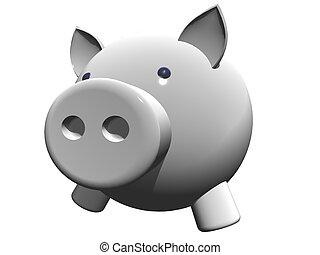 piggy - high definition closeup of a piggy