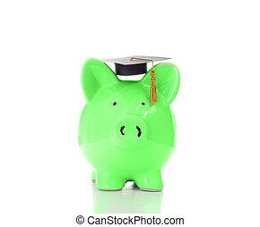 piggy graduate